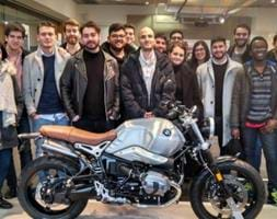 Company visit to BMW Motorcycles in Berlin