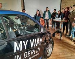 Students visit Siemens and Blacklane