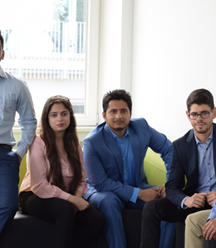 Students complete final consultancy project with a global multinational client
